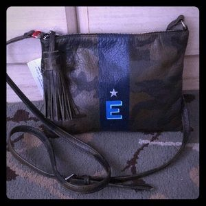 NOT RATIONAL Camouflage Leather Bag